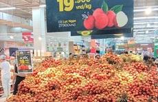 Vải thiều ở siêu thị chưa tới 20.000 đồng/kg