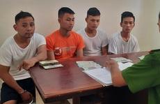 Nảy sinh lòng tham, 4 thanh niên 'bị hại' trở thành tội phạm