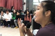 NSND Hồng Vân chuẩn bị kỹ nhân lực cho 2 sân khấu kịch