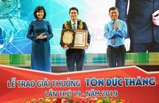 10 kỹ sư, công nhân vào vòng chung khảo Giải thưởng Tôn Đức Thắng