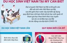 Đại sứ quán khuyến cáo du học sinh Việt Nam tại Mỹ