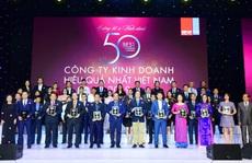 Chính thức công bố TOP  50 Công ty kinh doanh hiệu quả năm 2019
