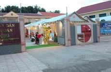 Chủ tịch UBND xã lên tiếng việc 'cho cán bộ mượn chỗ tổ chức đám cưới linh đình'