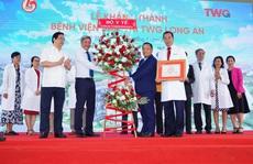 Bệnh viện Sản nhi TWG Long An chính thức khánh thành với qui mô 500 giường