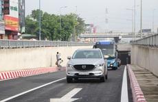 TP HCM: Thông xe hầm chui N2 nút giao thông An Sương