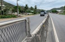 Lưới chống lóa biến mất trên Quốc lộ 1