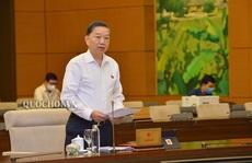 Bộ trưởng Tô Lâm 'sốt ruột' về dự án Luật Bảo đảm trật tự, an toàn giao thông đường bộ