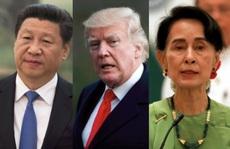 Mỹ và Trung Quốc gây gổ tới Myanmar