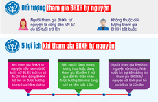 [Infographic] Tham gia bảo hiểm xã hội tự nguyện có quyền lợi gì?