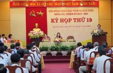 Kỳ họp HĐND tỉnh Quảng Ngãi không chất vấn trực tiếp