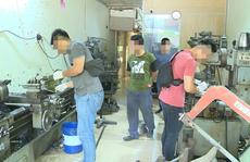 Triệt phá 'xưởng' chế tạo súng quy mô lớn tại đất cảng