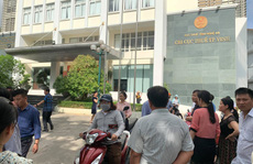 Cháy tại trụ sở Chi cục thuế TP Vinh, hàng trăm người hoảng sợ