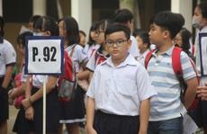 Điểm chuẩn khảo sát vào lớp 6 Trường chuyên Trần Đại Nghĩa