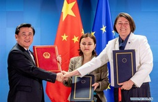 """Trung Quốc và EU đàm phán, Mỹ có thể """"ngửi thấy mùi máu"""""""