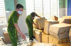 Đà Nẵng: Tạm giữ hơn 18.000 khẩu trang y tế không nguồn gốc chuẩn bị xuất ra thị trường