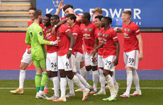 Hạ Leicester ở King Power, Man United 'bay' tới Champions League