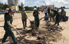 Cận cảnh 800 người  'giải cứu' bãi biển Vũng Tàu