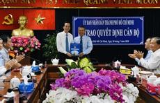 Ông Võ Văn Đức làm Chủ tịch UBND quận 3