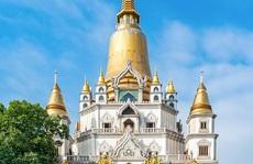 Nét kiến trúc theo phong cách Thái Lan của ngôi chùa trong Top đẹp nhất thế giới
