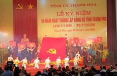 Ông Phạm Minh Chính dự lễ kỷ niệm 90 năm ngày thành lập Đảng bộ tỉnh Thanh Hóa