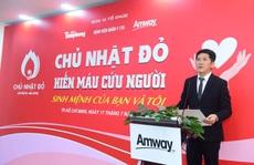 Amway Việt Nam lần đầu tham gia Ngày hội Hiến máu Chủ nhật đỏ