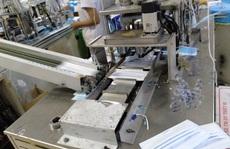Bắt quả tang vụ sản xuất hàng trăm ngàn chiếc khẩu trang giả hiệu 3M