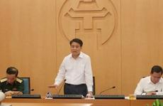 Chủ tịch Hà Nội Nguyễn Đức Chung: Dừng hoạt động karaoke, quán bar, trà đá vỉa hè