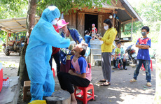 Bạch hầu tăng từng ngày, 7.500 cán bộ, nhân viên y tế Đắk Lắk được tiêm vắc-xin