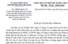 Giám đốc Sở GD-ĐT TP HCM Lê Hồng Sơn bị phê bình