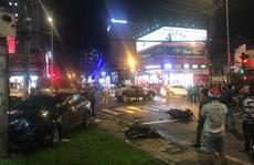 Nữ tài xế 23 tuổi lái ô tô tông hàng loạt xe gắn máy do đạp nhầm chân ga