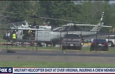 Trực thăng quân sự Mỹ bị bắn bí ẩn ở Virginia: FBI vào cuộc
