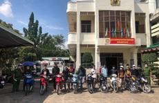 Cả trăm 'quái xế' quậy ở Đồng Nai bị công an vây bắt
