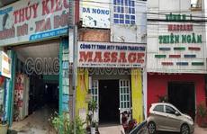 Đồng Nai: Bất ngờ kiểm tra, cùng lúc phát hiện 3 cơ sở massage 'tắm tiên'