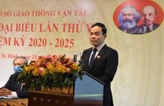 Ông Trần Quang Lâm tái đắc cử Bí thư Đảng ủy Sở GTVT TP HCM