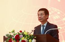 Bộ trưởng Nguyễn Mạnh Hùng công bố giải thưởng 'Sản phẩm Công nghệ số Make in Vietnam 2020'