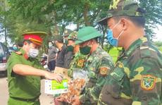 Tiếp sức chiến sĩ phòng, chống dịch Covid-19 trên tuyến biên giới