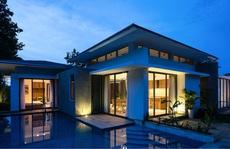 Biệt thự 1 tầng có hồ bơi xanh mát