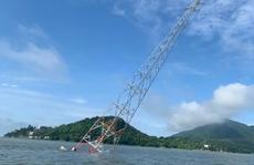 Tìm được 'thủ phạm' đâm nghiêng trụ điện vượt biển đang lẩn trốn ở Phú Quốc