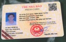 Mạo danh Cục Báo chí đi tặng hoa Công an tỉnh Thanh Hóa nhằm... 'đánh bóng tên tuổi'