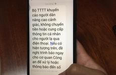 Nhân viên ngân hàng nhanh trí, ngăn chặn một vụ lừa đảo qua điện thoại