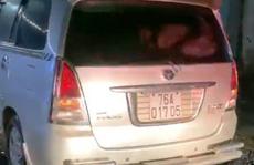 Ôtô chở người từ vùng dịch về, khai báo gian dối trốn cách ly