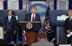 Tổng thống Trump thông báo 'đột phá' trong điều trị Covid-19