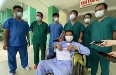 Bệnh nhân Covid-19 'bước ra từ cửa tử' được xuất viện