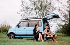 Gia đình vi vu khắp Việt Nam bằng ôtô tự cải tạo