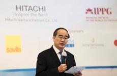 Bí thư Nguyễn Thiện Nhân nêu 9 lợi thế để doanh nghiệp Mỹ đầu tư vào TP HCM