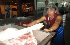 Giá thịt heo xuống thấp nhất 3 tháng qua