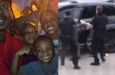 Người đàn ông da màu bị cảnh sát bắn trước mặt 3 con