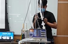 Bệnh viện đầu tiên ở miền Tây được tặng 50 máy thở