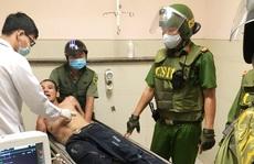 Cảnh sát 113 khống chế kẻ ngáo đá cầm dao dọa tấn công nhiều người