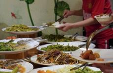 Tiệm buffet chay trả tiền tùy tâm ở TP HCM